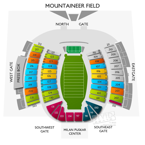 West virginia mountaineers vs kansas state football tickets 9 22