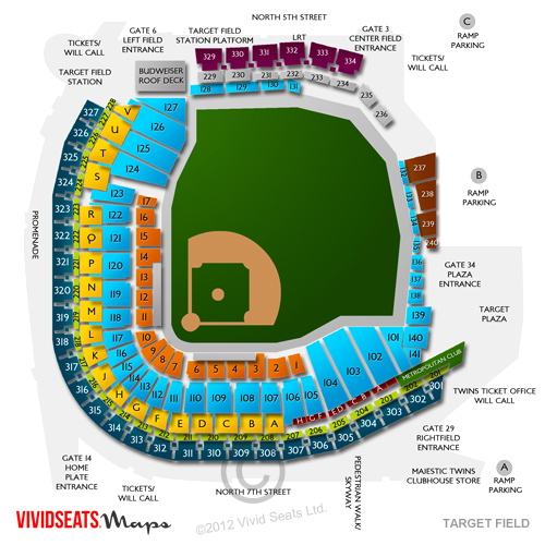 Target field concerts seating views and event schedule vivid seats