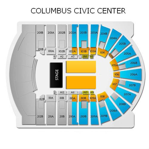Fantasia Columbus Tickets 11242019 730 Pm Vivid Seats