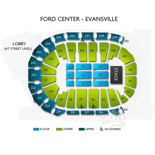 Ford Center Evansville Tickets - Ford Center Evansville ...