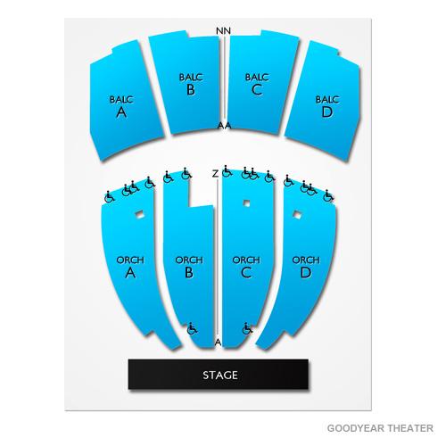 Goodyear Theater Seating Chart Vivid Seats
