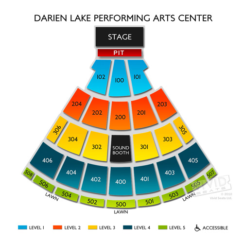 Darien Lake Seating Chart