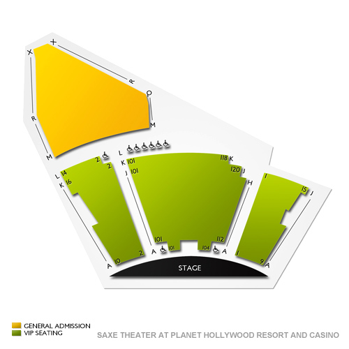 saxe theater at planet hollywood resort and casino seating chart vivid seats. Black Bedroom Furniture Sets. Home Design Ideas
