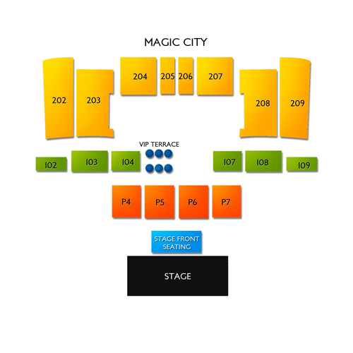 magic casino events