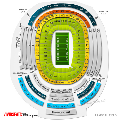 Green bay packers vs minnesota vikings tickets 12 23 2017 7 30 pm