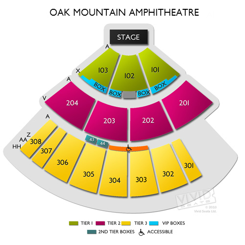 Pelham Amphitheater: Oak Mountain Amphitheatre Tickets