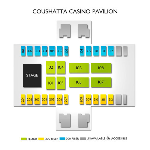 Coushatta Casino Resort Seating Chart