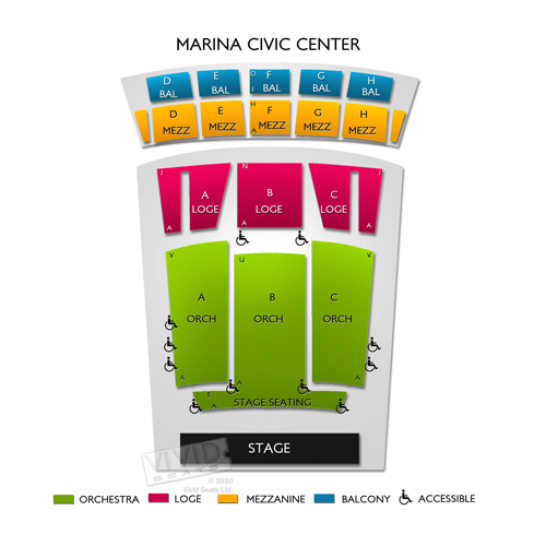 Marina Civic Center