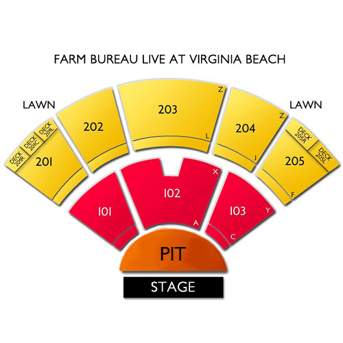virginia beach amphitheater seating chart. Black Bedroom Furniture Sets. Home Design Ideas