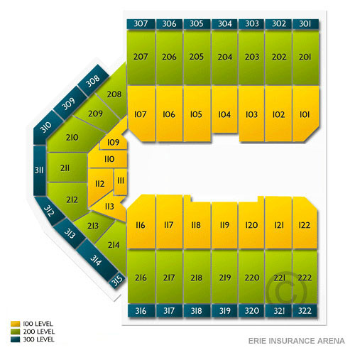 Erie Civic Center Seating Chart Brokeasshome Com