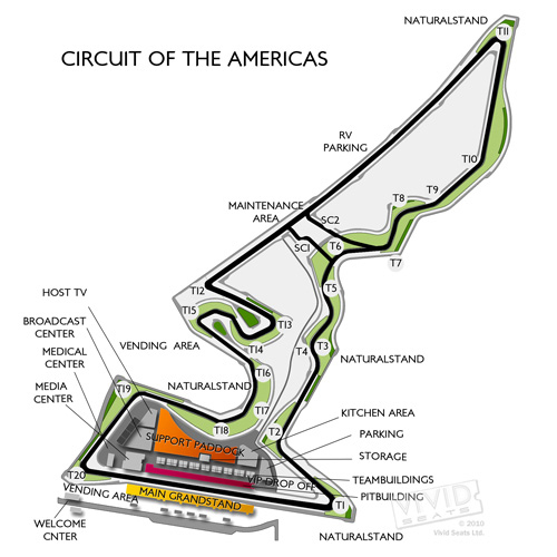 Circuit Of The Americas Tickets Circuit Of The Americas