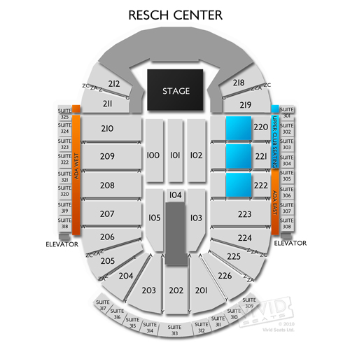 Resch Center Tickets Resch Center Information Resch