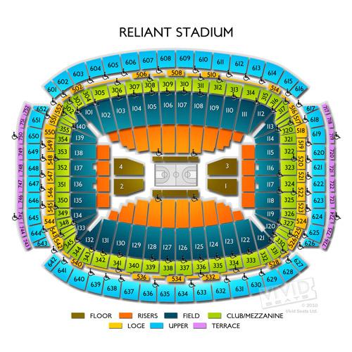 Nrg Stadium Tickets Nrg Stadium Seating Chart Vivid Seats