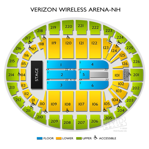 Palladium Worcester Seating Chart Brokeasshomecom - Verizon center seating map