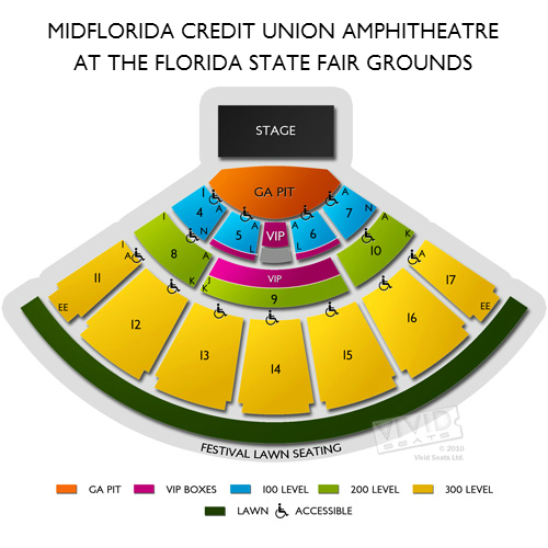 venues midflorida credit union amphitheatre state fairgrounds