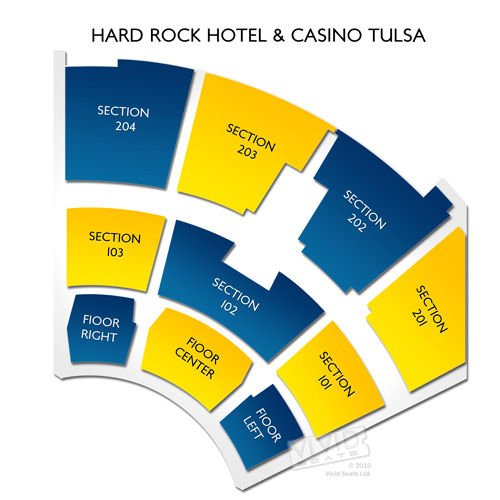 The joint at hard rock hotel & casino seating chart
