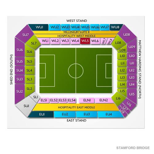 Stamford Bridge Seating Chart Vivid Seats