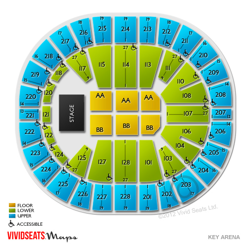 Keyarena Tickets Keyarena Ticket Info Amp Seating Vivid