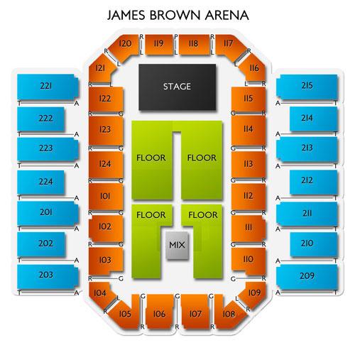 Zz Top Augusta Tickets 10152019 700 Pm Vivid Seats