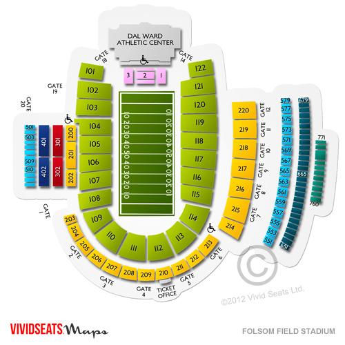 Colorado vs utah football tickets 11 17 2018 l vivid seats