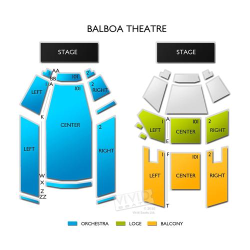 Balboa Theatre Tickets Balboa Theatre Information