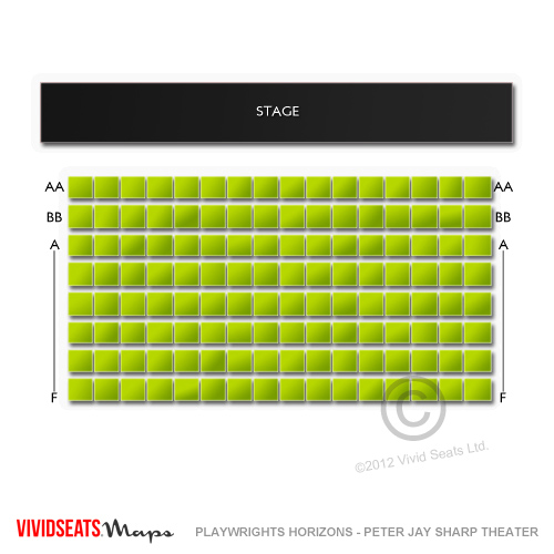 playwrights horizons seating chart vivid seats. Black Bedroom Furniture Sets. Home Design Ideas