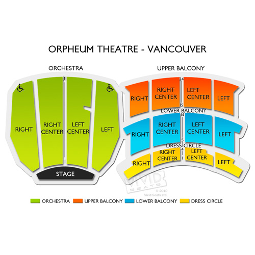 orpheum vancouver seating chart: Majid jordan vancouver tickets 2 13 2018 l vivid seats