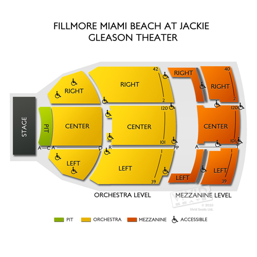 The Fillmore Miami Beach At Jackie Gleason Theater Address