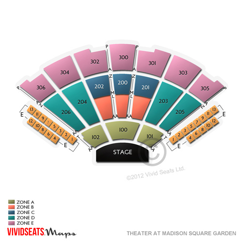Madison Square Garden Theater Virtual Seating Chart Madison Square Garden Floor Plan Best Of