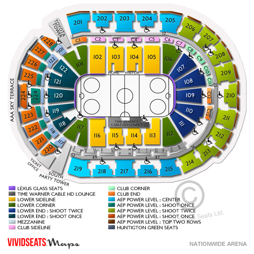 Columbus blue jackets vs pittsburgh penguins tickets 2 18 18