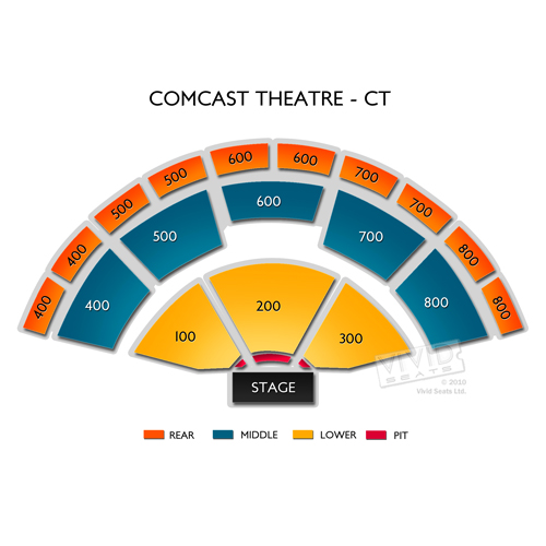 Xfinity Theatre Tickets - Xfinity Theatre Seating Chart ...