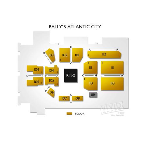 Ballys Atlantic City Seating Chart Vivid Seats