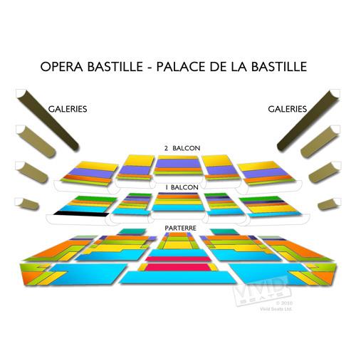 opera bastille palace de la bastille seating chart seats