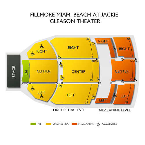 Fillmore miami beach miami beach fl seating chart stage