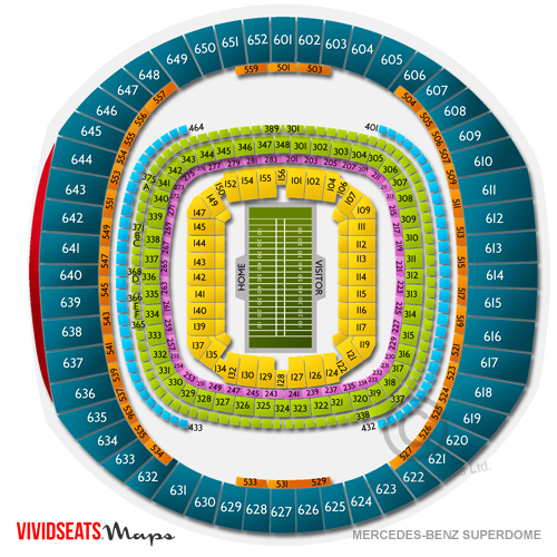 Mercedes benz superdome tickets mercedes benz superdome for Mercedes benz superdome suites
