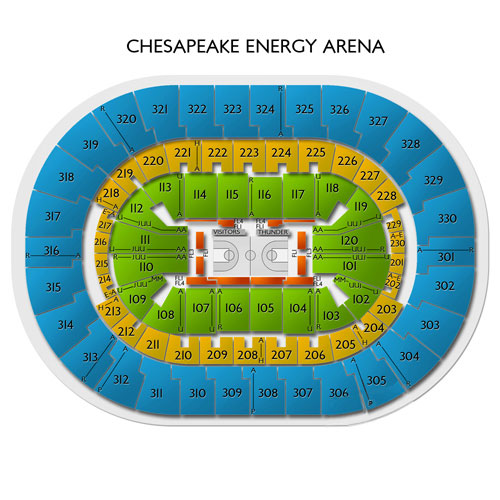 Oklahoma City Thunder Vs Charlotte Hornets Tickets 32620 Vivid