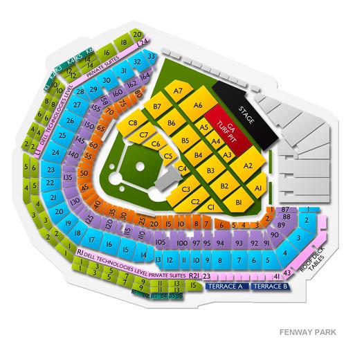 Zac Brown Band Fenway Park Tickets 912019 Vivid Seats